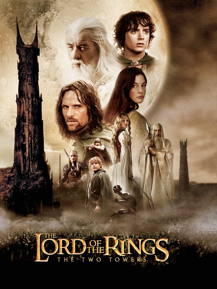 The Lord of the Rings: The Definitive Movie Posters reverse side