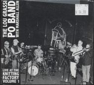 The Lou Grassi Po Band CD