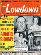 The Lowdown Magazine October 1955 Magazine