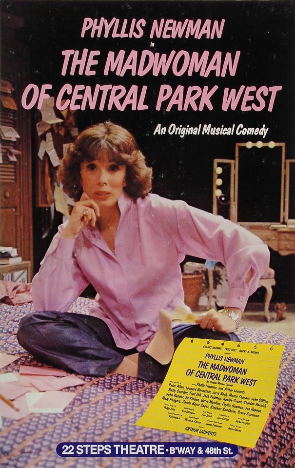 The Madwoman of Central Park West Poster