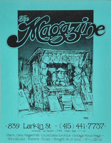 The Magazine Store Handbill