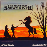 The Man From Snowy River Laserdisc