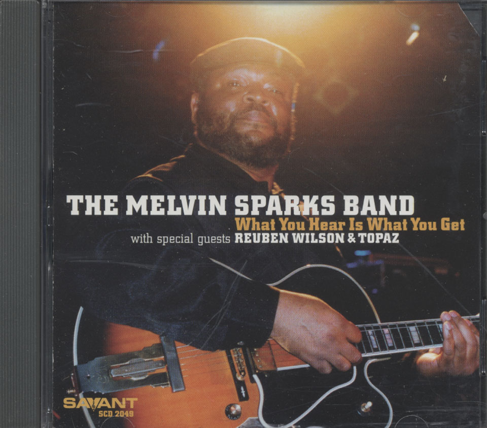 The Melvin Sparks Band CD
