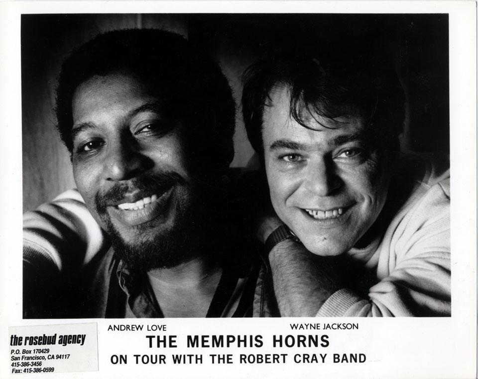 The Memphis Horns Promo Print