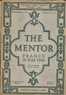 The Mentor Magazine November 15, 1918 Magazine