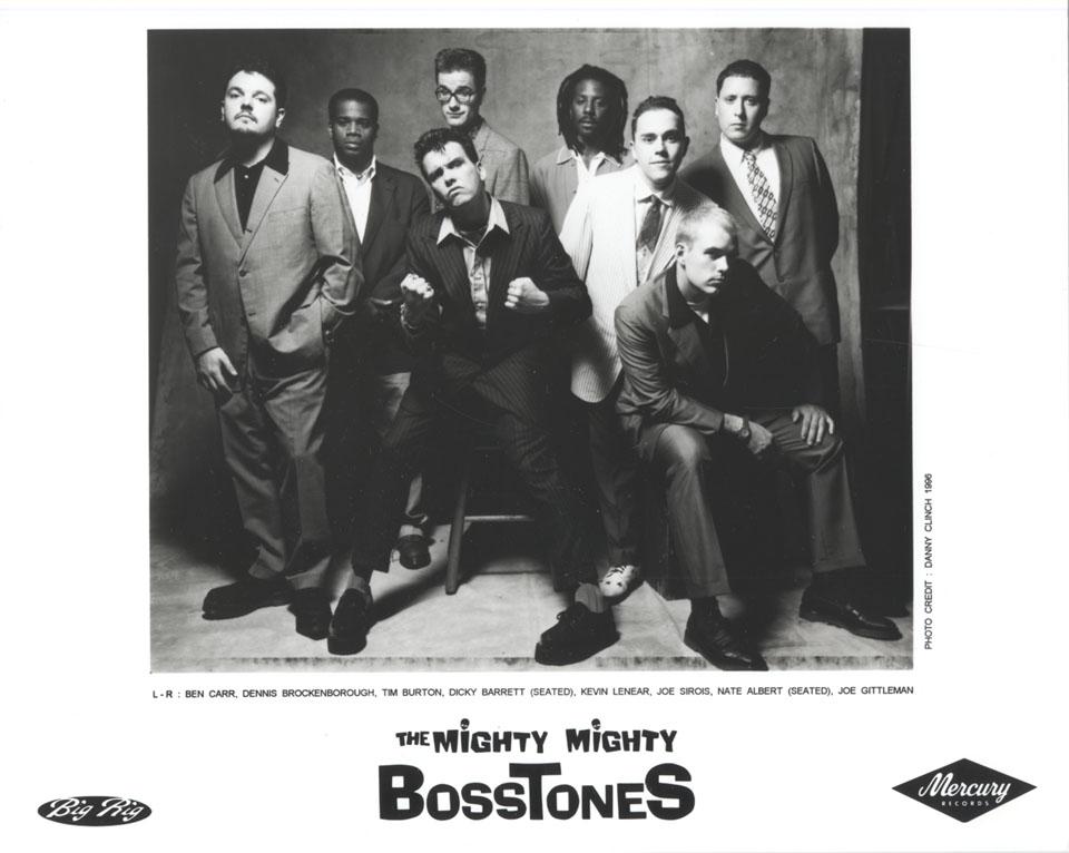 The Mighty Mighty Bosstones Promo Print
