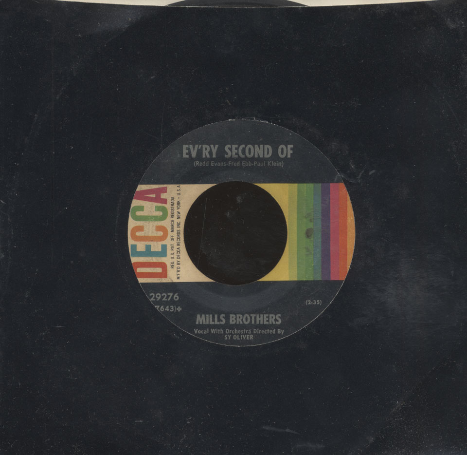 """The Mills Brothers Vinyl 7"""" (Used)"""
