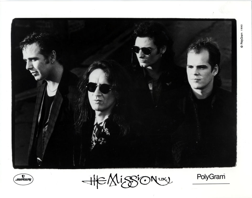 The Mission U.K. Promo Print