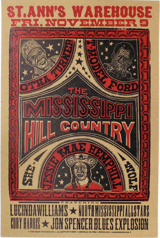 The Mississippi Hill Country Festival Poster