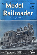 The Model Railroader Vol. 10 No. 10 Magazine
