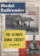 The Model Railroader Vol. 25 No. 6 Magazine