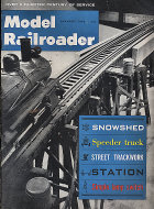 The Model Railroader Vol. 30 No. 1 Magazine