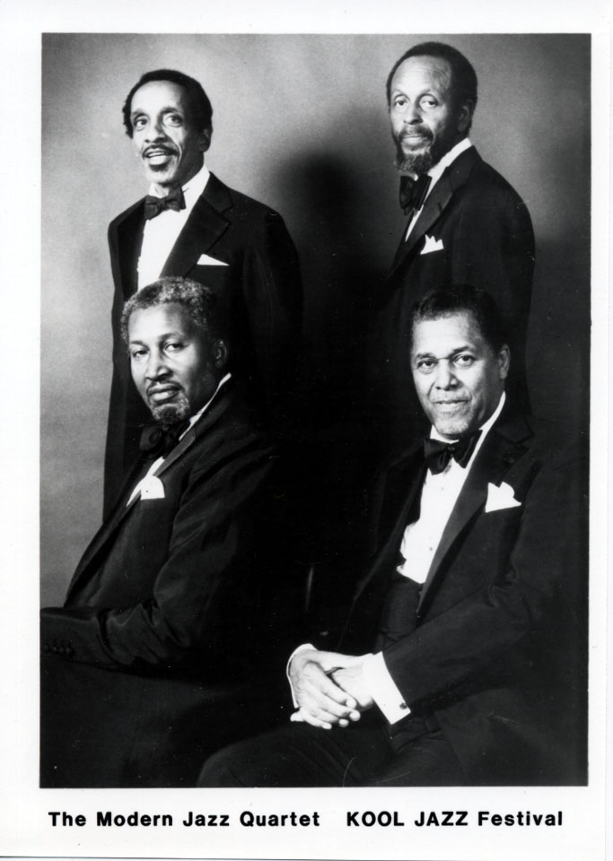 The Modern Jazz Quartet Promo Print