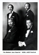The Modern Jazz Quartet Promo Print