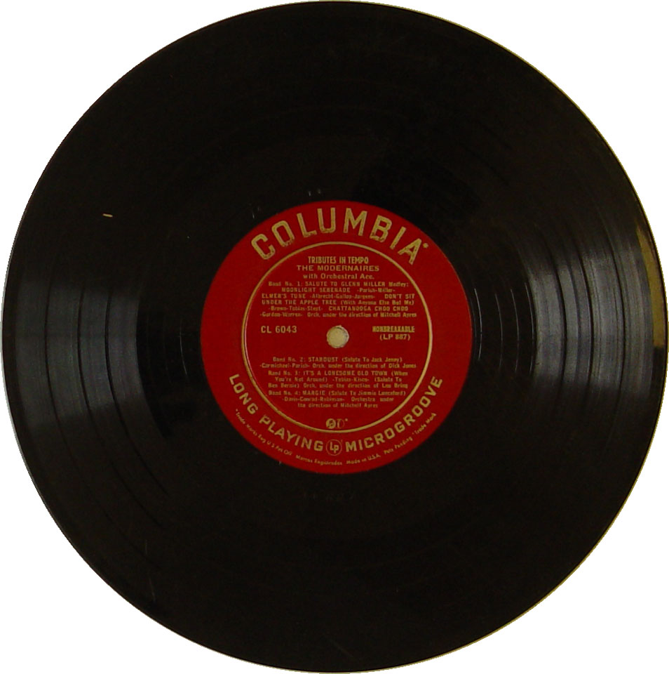 """The Modernaires Vinyl 10"""" (Used)"""