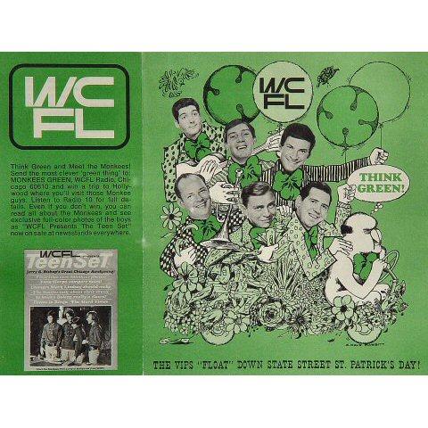 The Monkees Program reverse side