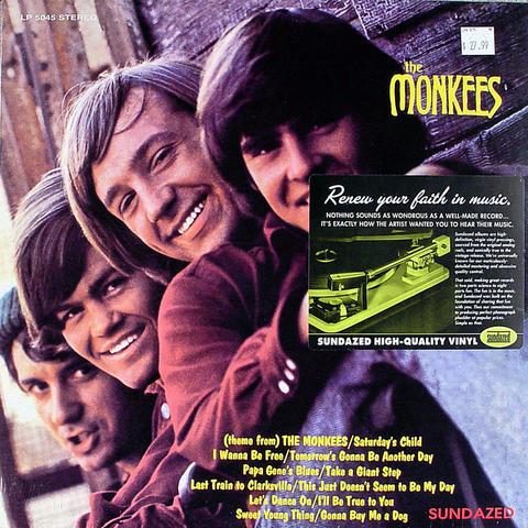 "The Monkees Vinyl 12"" (New)"
