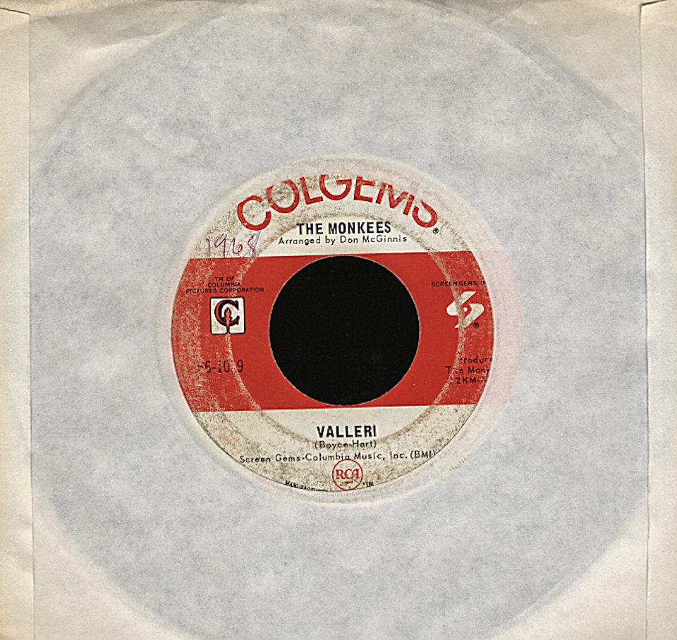 """The Monkees Vinyl 7"""" (Used)"""
