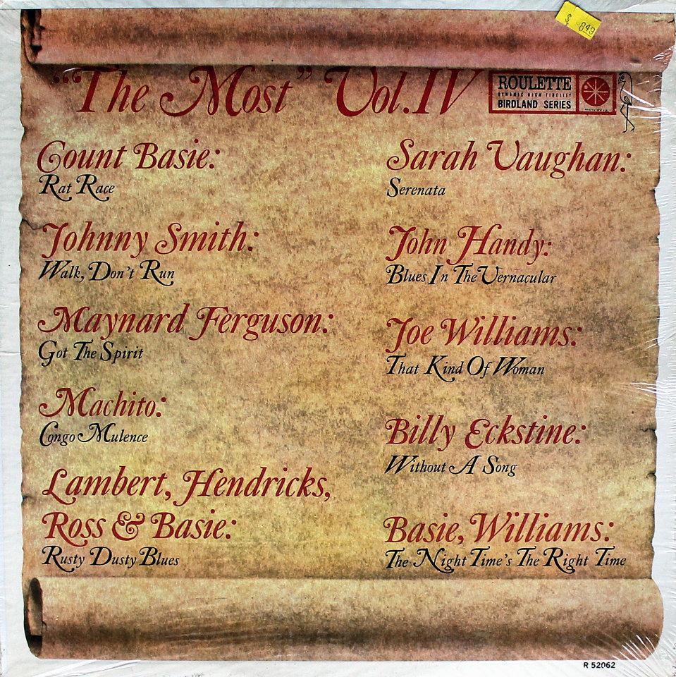 """The Most: Vol. IV Vinyl 12"""" (New)"""