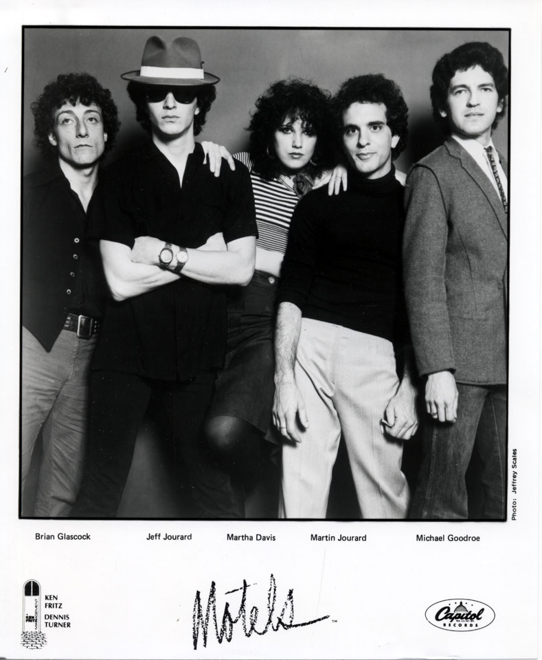 The Motels Promo Print