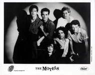 The Motels Promo Print