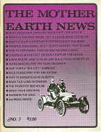 The Mother Earth News No. 5 Magazine