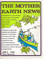 The Mother Earth News No. 9 Magazine