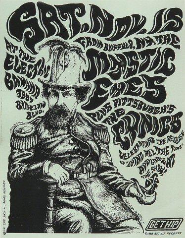 The Mystic Eyes Handbill