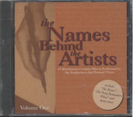 The Names Behind The Artists Vol. 1 CD