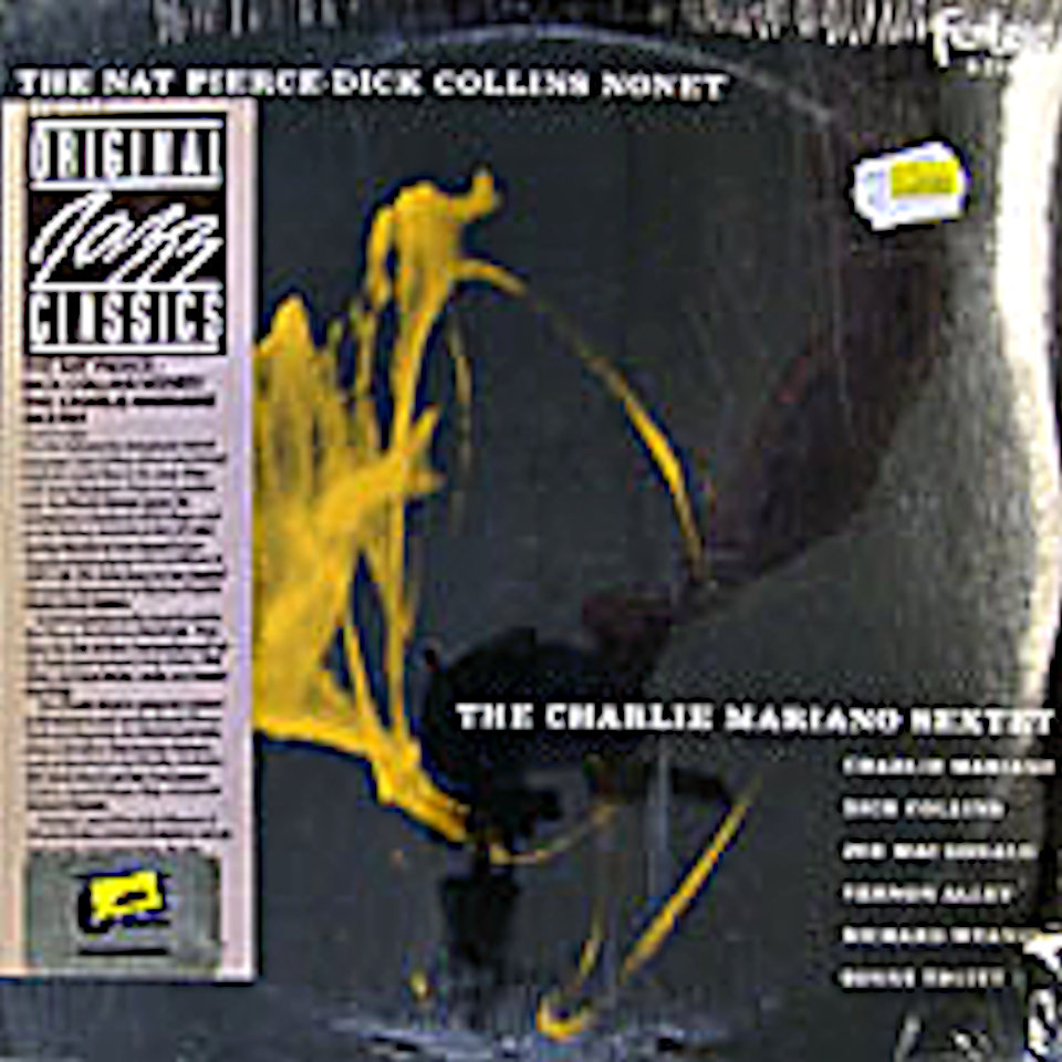 """The Nat Pierce-Dick Collins Nonet / The Charlie Mariano Sextet Vinyl 12"""" (Used)"""
