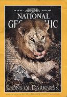 The National Geographic Magazine Vol. 186 No. 2 Magazine