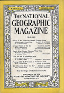 The National Geographic Magazine Vol. CII No. 1 Magazine