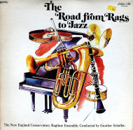 """The New England Conservatory Ragtime Ensemble Vinyl 12"""" (Used)"""