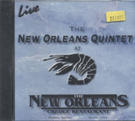 The New Orleans Quintet CD