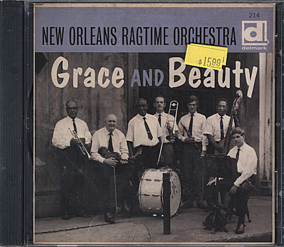 The New Orleans Ragtime Orchestra CD