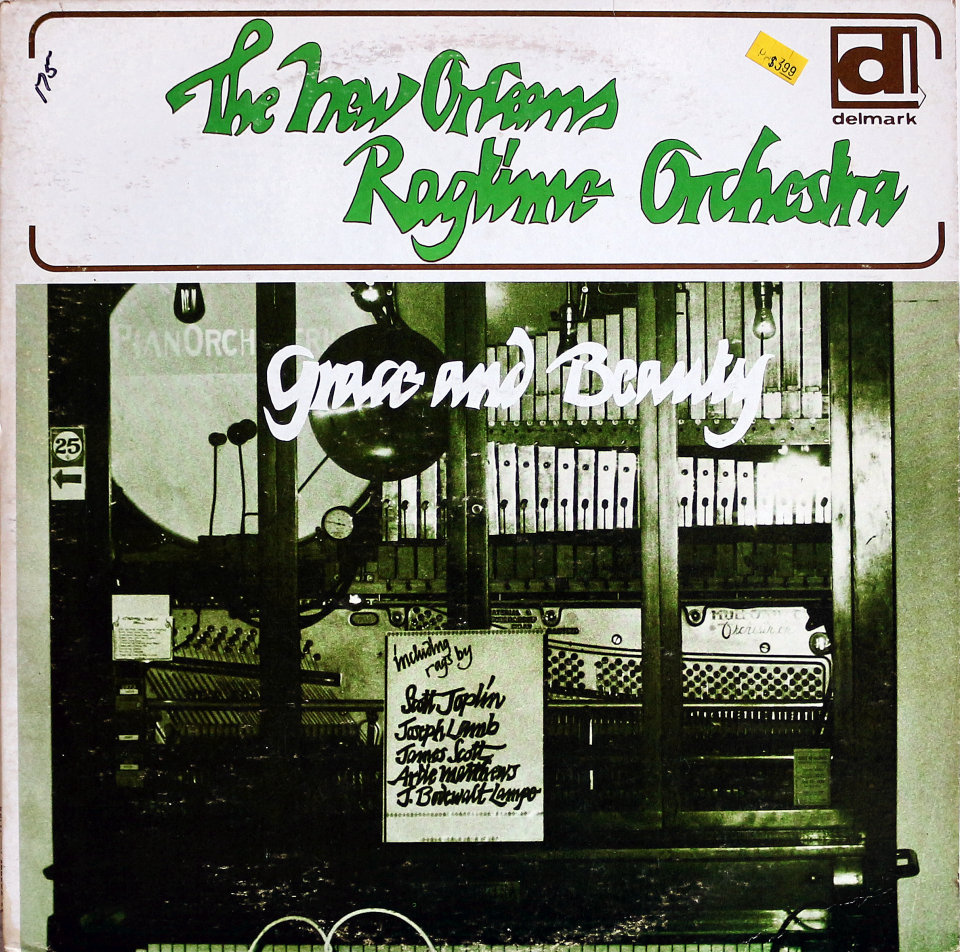 """The New Orleans Ragtime Orchestra Vinyl 12"""" (New)"""