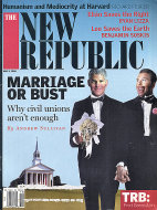 The New Republic Issue 4451 Magazine