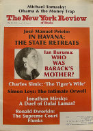 The New York Review of Books May 26, 2011 Magazine