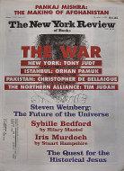 The New York Review of Books November 15, 2001 Magazine