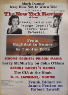 The New York Review of Books September 25, 2003 Magazine