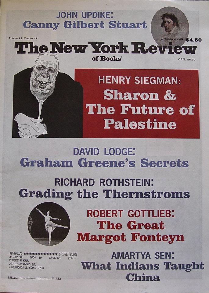 The New York Review of Books Vol. LI No. 19