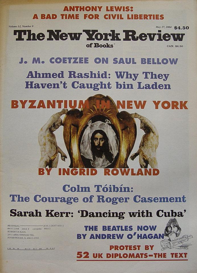 The New York Review of Books Vol. LI No. 9