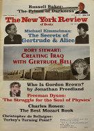 The New York Review of Books Vol. LIV No. 16 Magazine