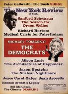The New York Review of Books Vol. LIV No. 4 Magazine