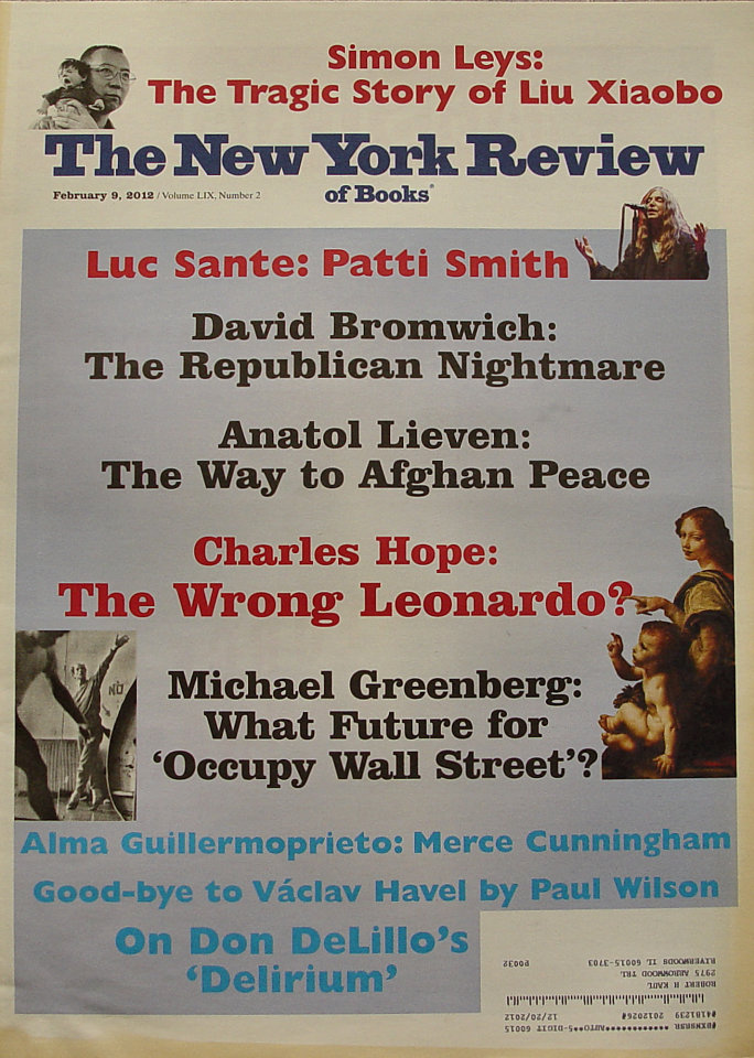 The New York Review of Books Vol. LIX No. 2