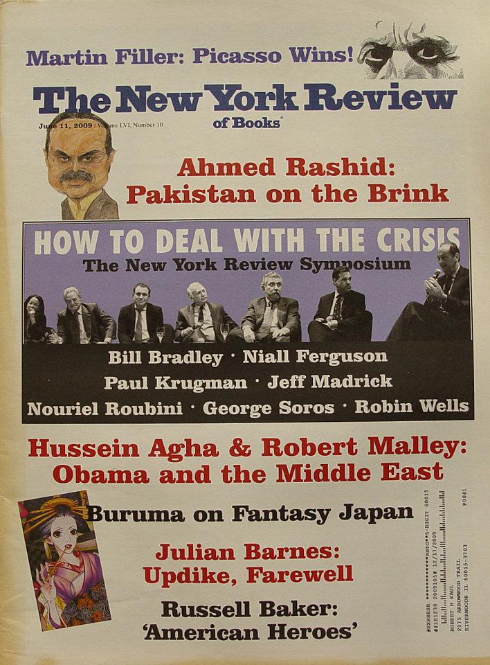The New York Review of Books Vol. LVI No. 10