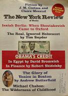 The New York Review of Books Vol. LVI No. 12 Magazine