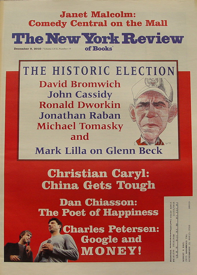 The New York Review of Books Vol. LVII No. 19