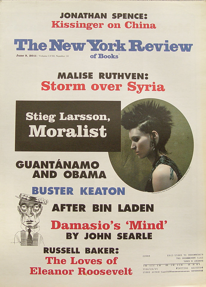 The New York Review of Books Vol. LVIII No. 10