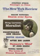 The New York Review of Books Vol. LVIII No. 10 Magazine